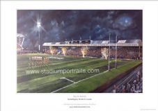 Leeds Rhinos South Stand Celebration unframed A3 Print